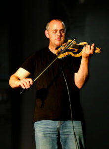 Playing at a ceilidh for Wymondham Music Festival